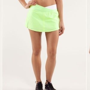 Lululemon Run Pace Skirt